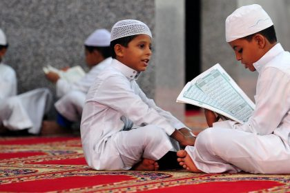 children read quran