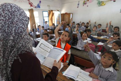 gaza-school-learning